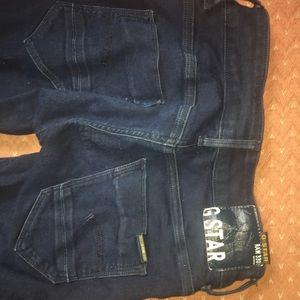 G-Star Indigo Skinny Jeans